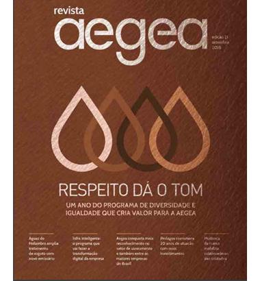 Revista Aegea Edição 21 | Setembro 2018