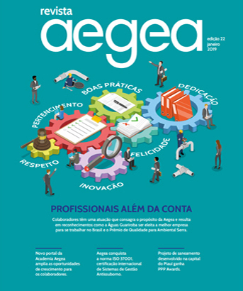 Aegea Magazine Issue 22 | January 2019