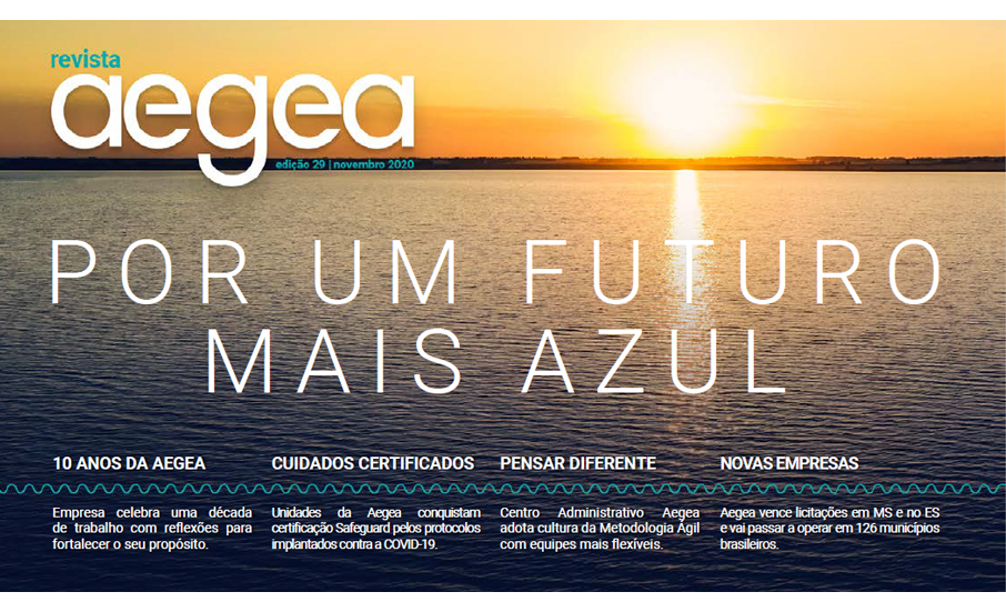 Aegea Magazine Issue 29 | November 2020